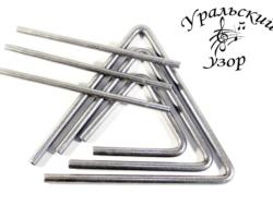 Набор музыкальных треугольников